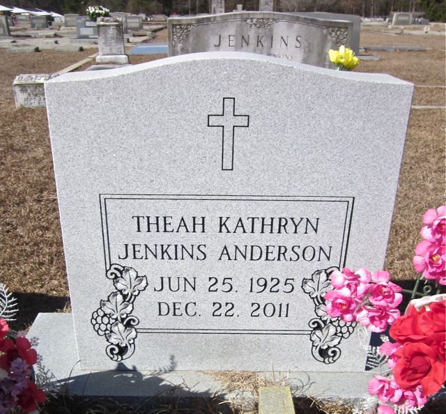 Theah Kathryn <i>Jenkins</i> Anderson