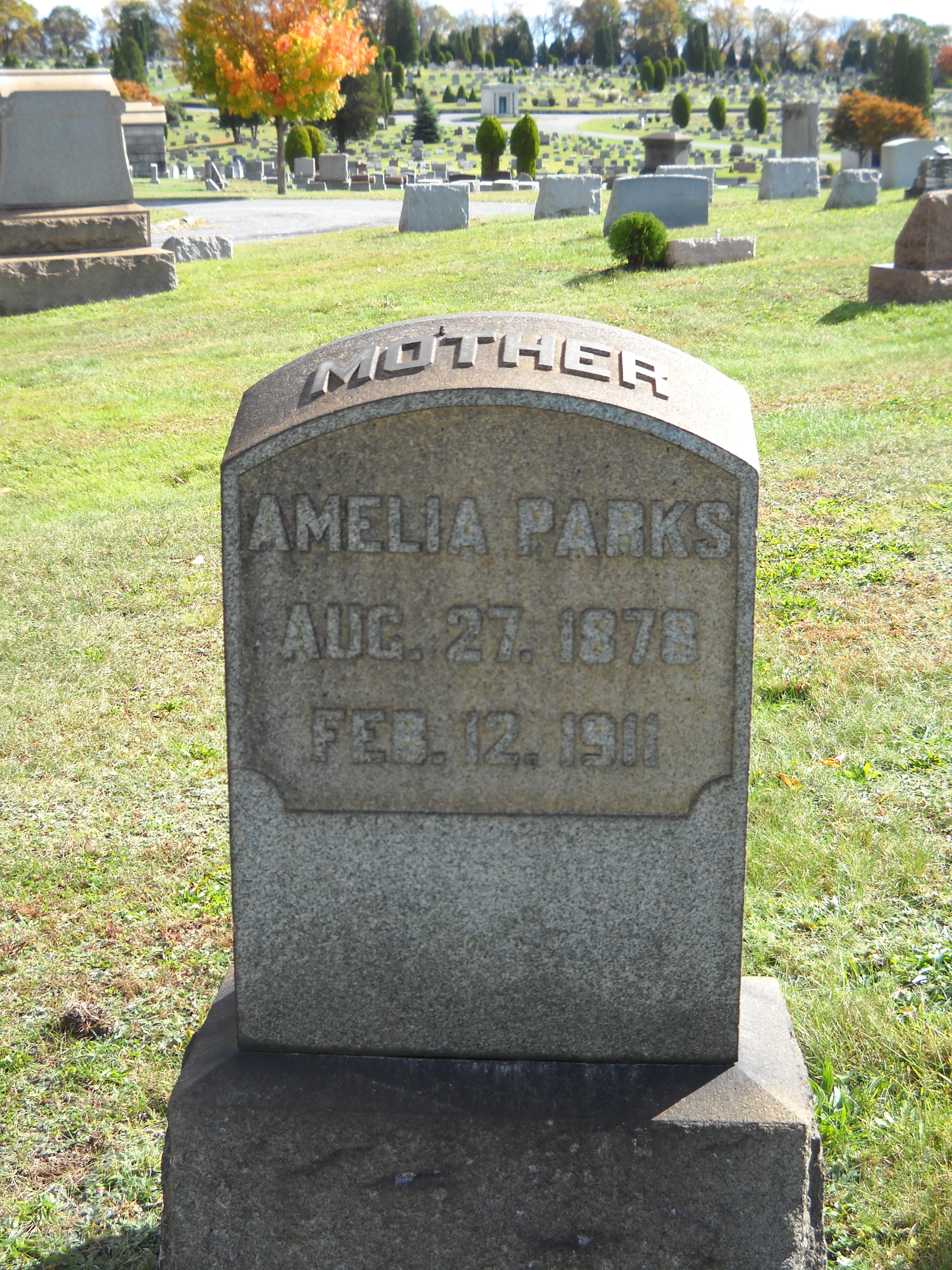 Amelia <i>Petherbridge</i> Parks