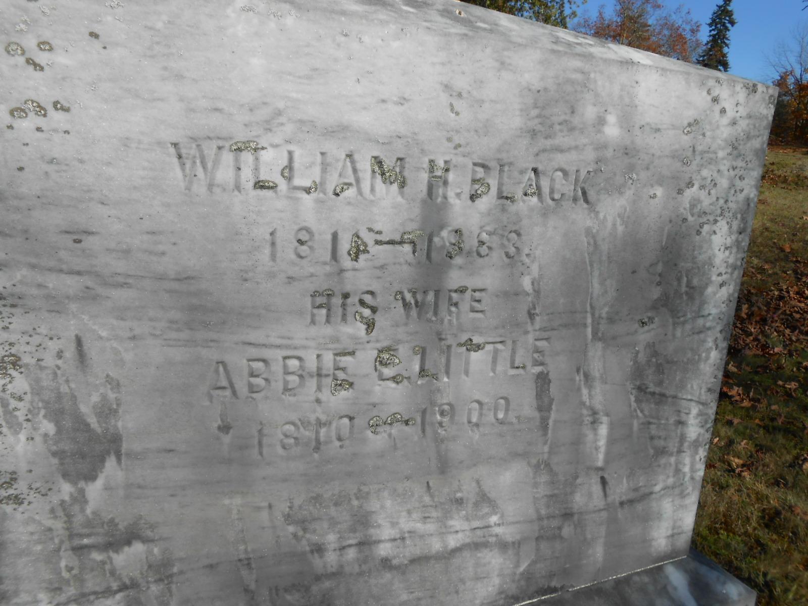 Abigail Eliza Abbie <i>Little</i> Black