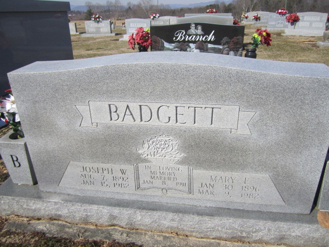 Mary <i>Eads</i> Badgett