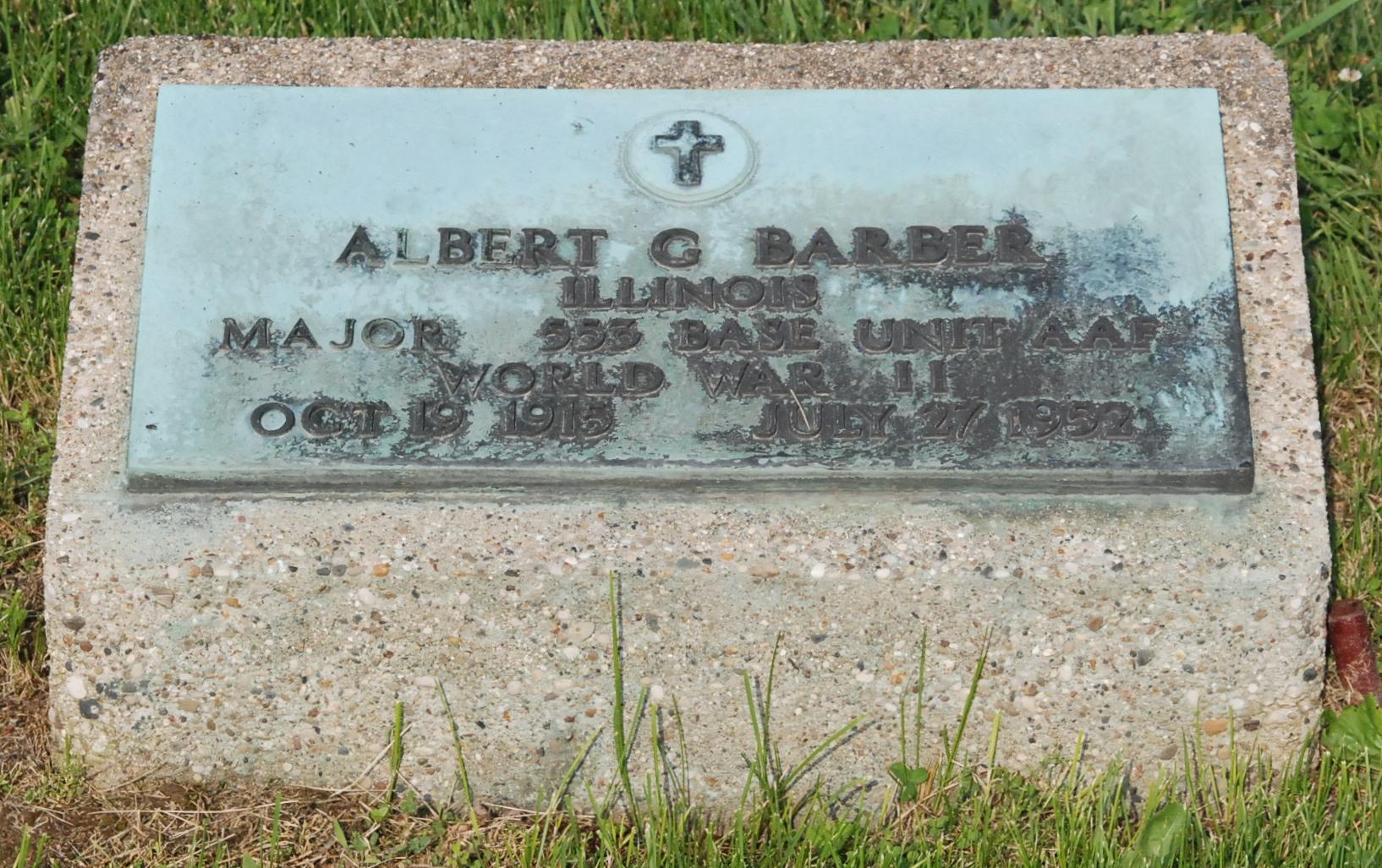Albert Gould Barber