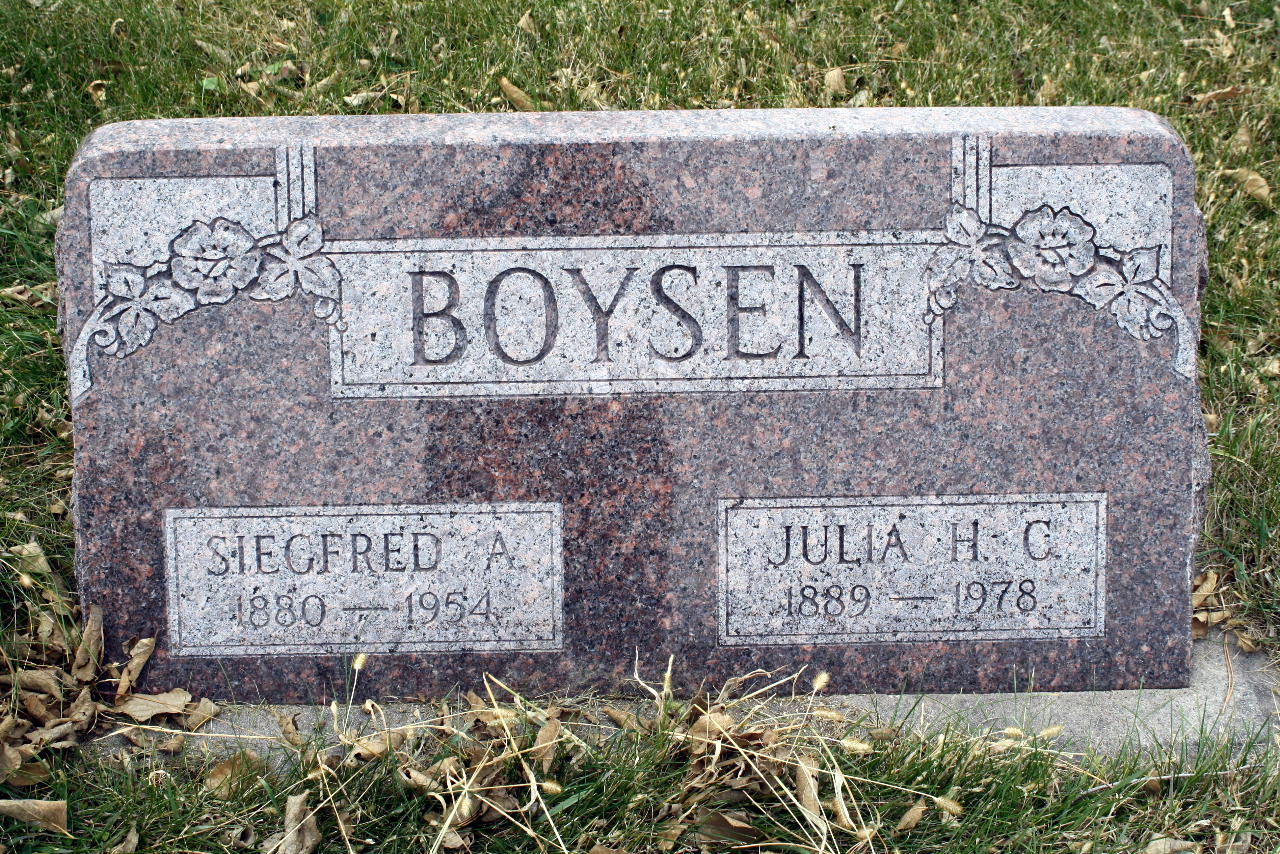 Siegfred A. Boysen