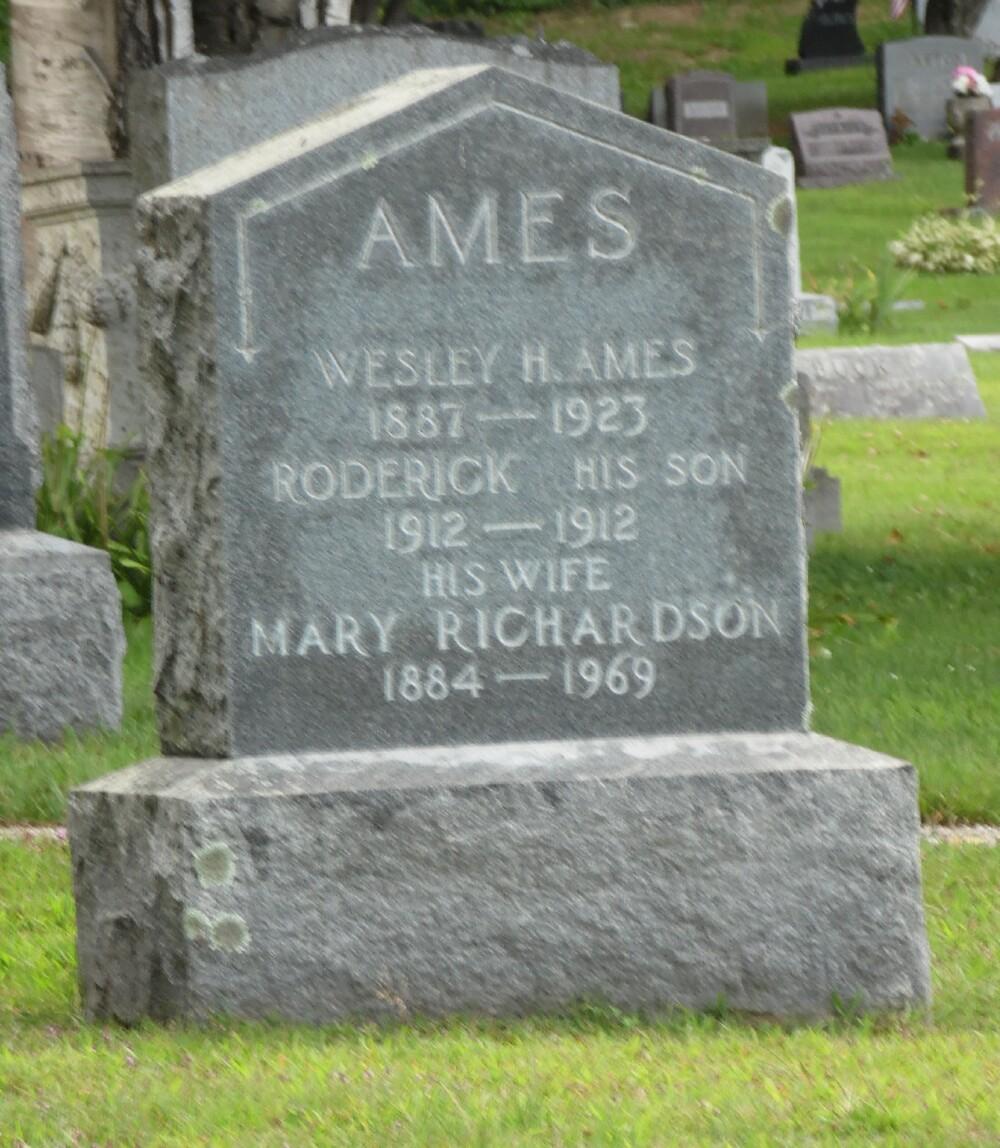 Mary Jane Jennie <i>Richardson</i> Ames