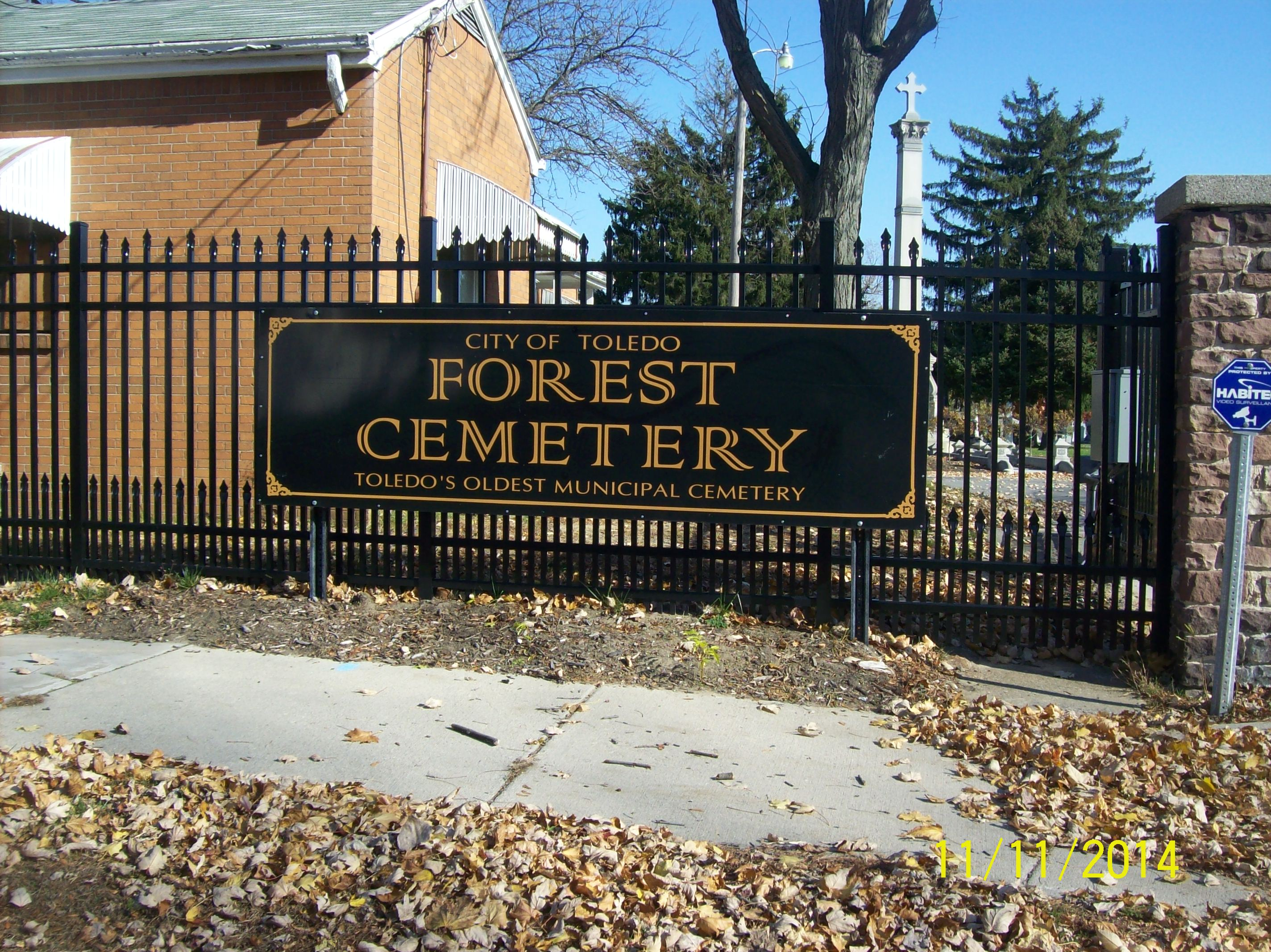 Forest Cemetery In Toledo Ohio Find A Grave Cemetery