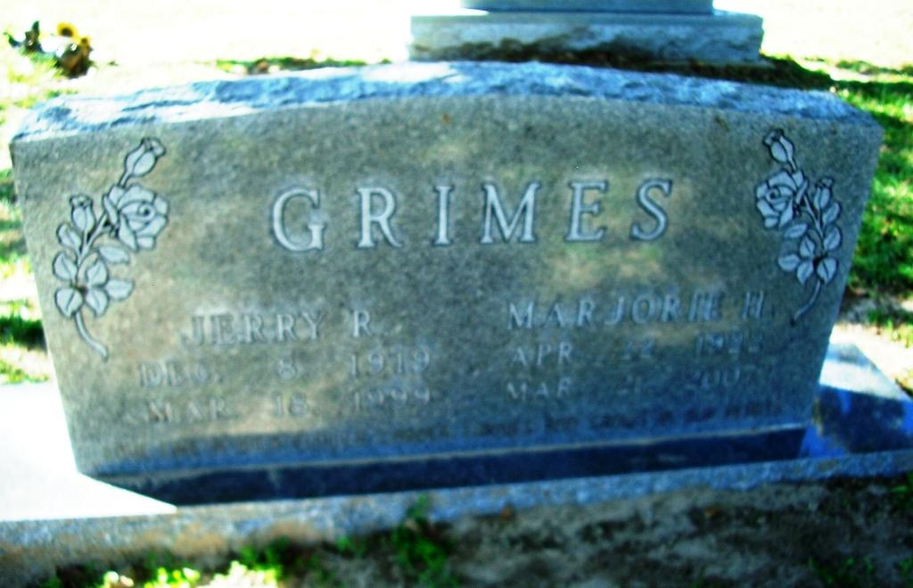 Marjorie Naomi <i>Hugghins</i> Grimes