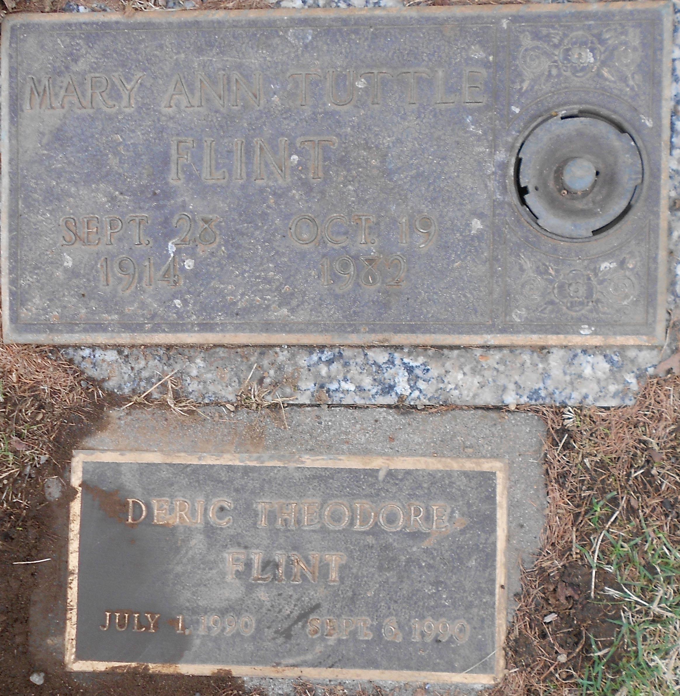 Mary Ann <i>Tuttle</i> Flint