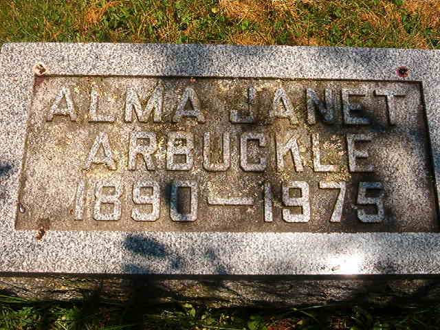 Alma Janet Arbuckle