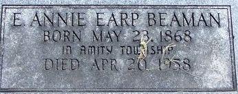 Esther Annie <i>Earp</i> Beaman