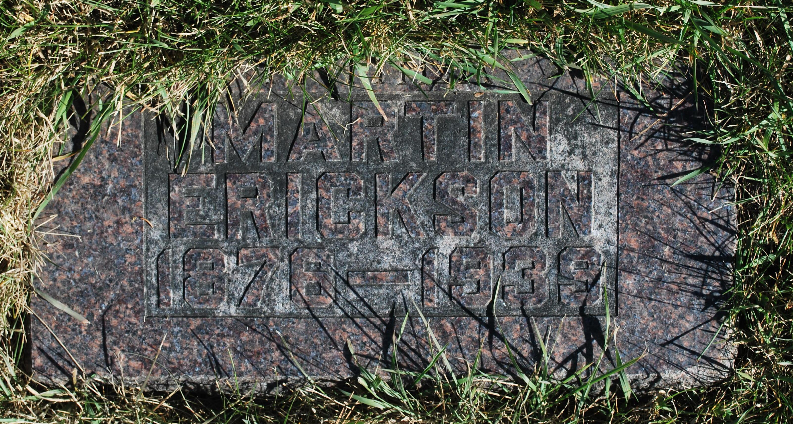 Martin Emil Erickson