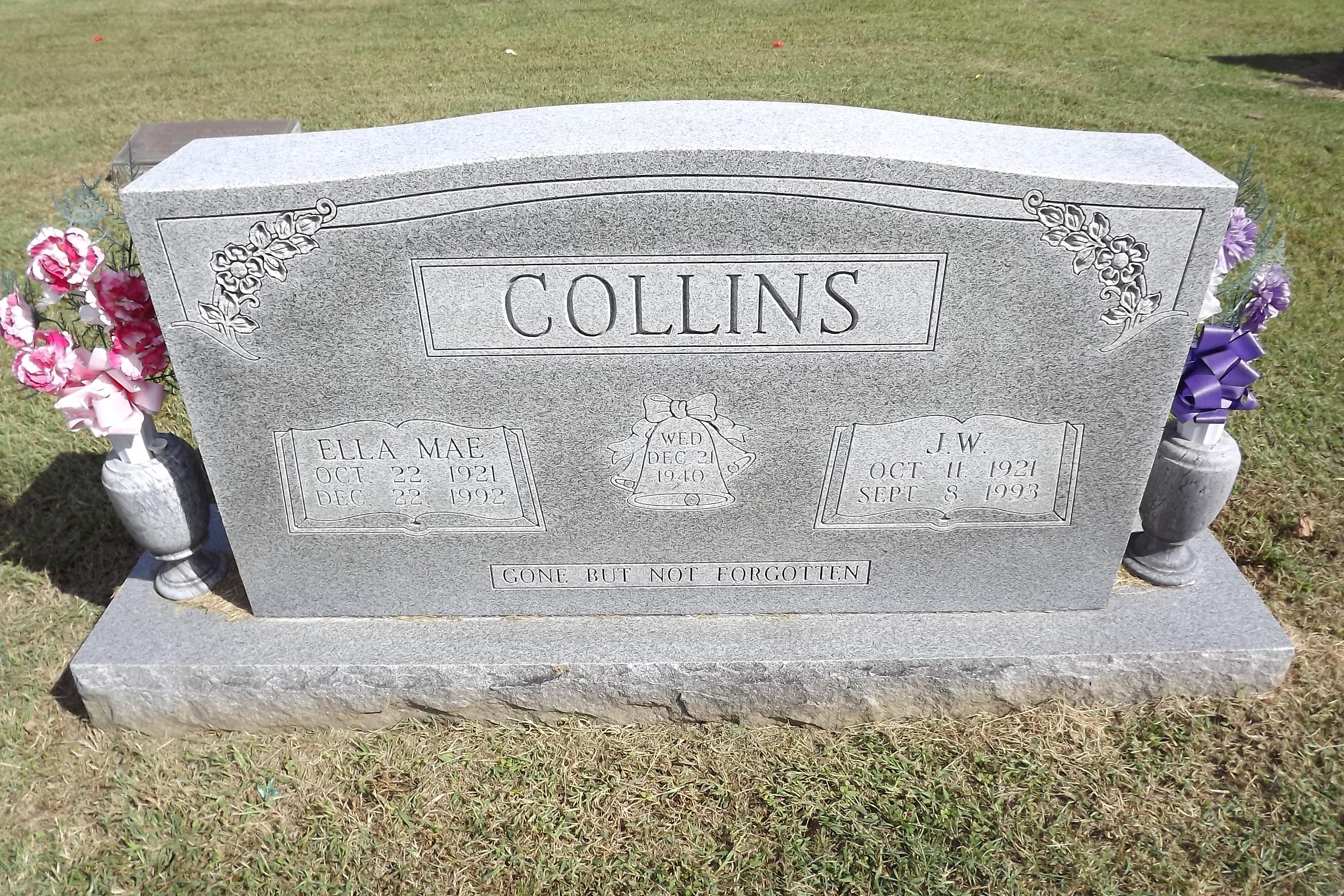 Ella Mae <i>Pope</i> Collins