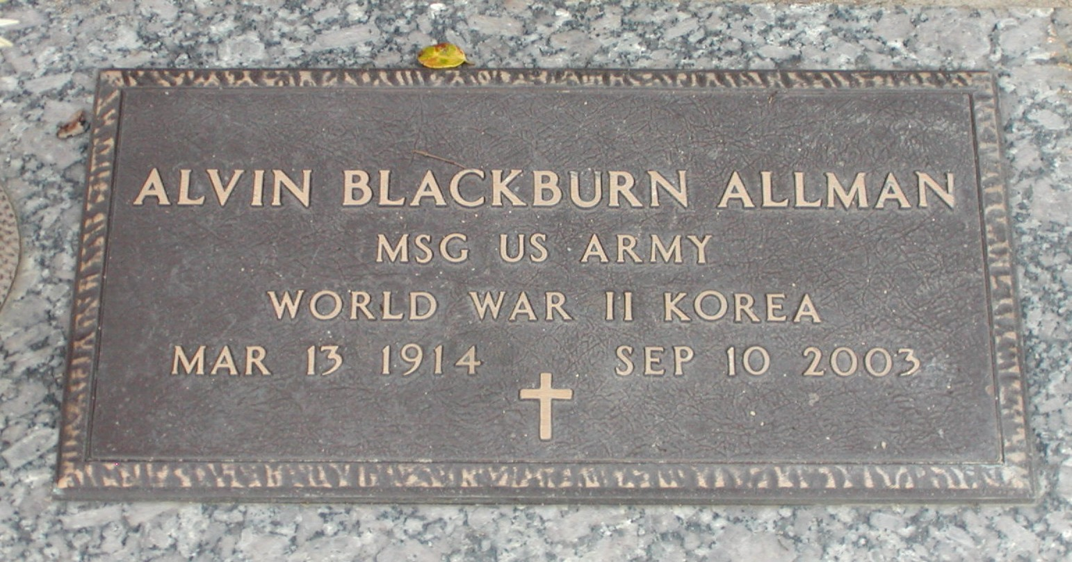 Alvin Blackburn Allman