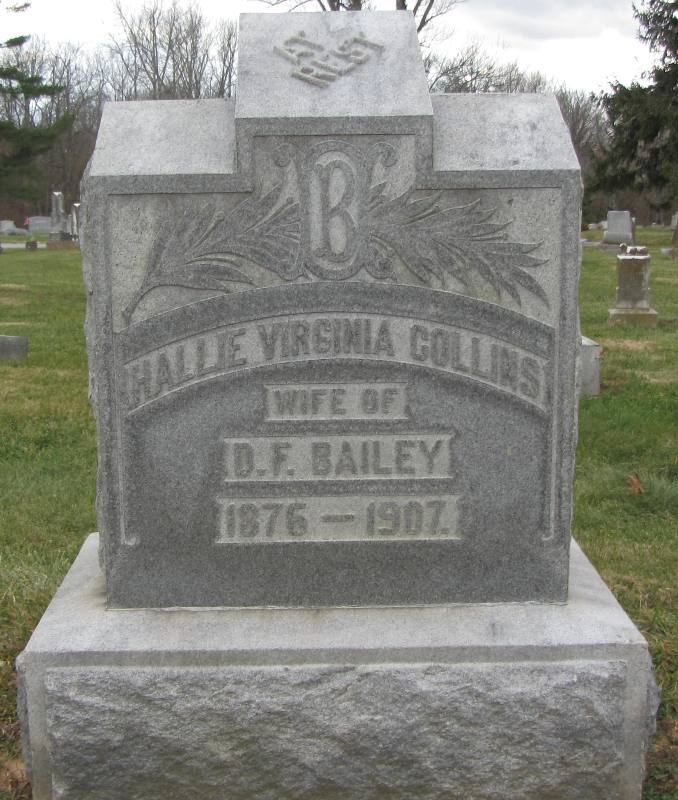Hallie Virginia <i>Collins</i> Bailey