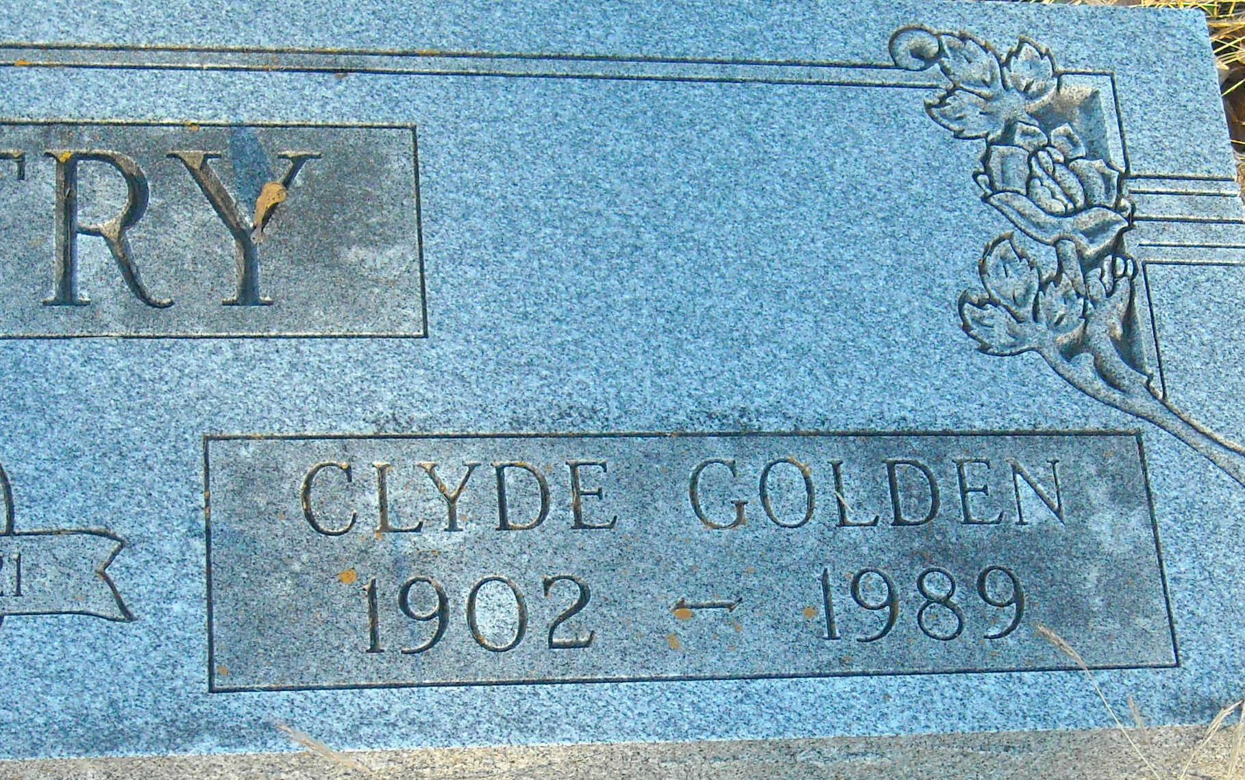 Clyde Golden Gentry