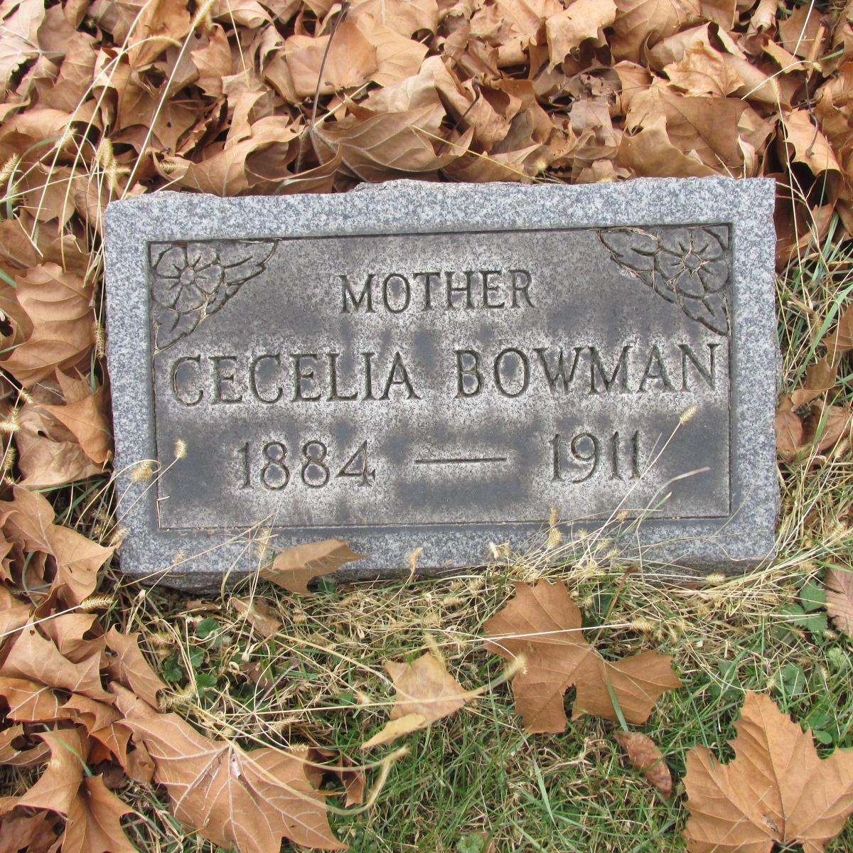 Cecilia <i>Bannen</i> Bowman