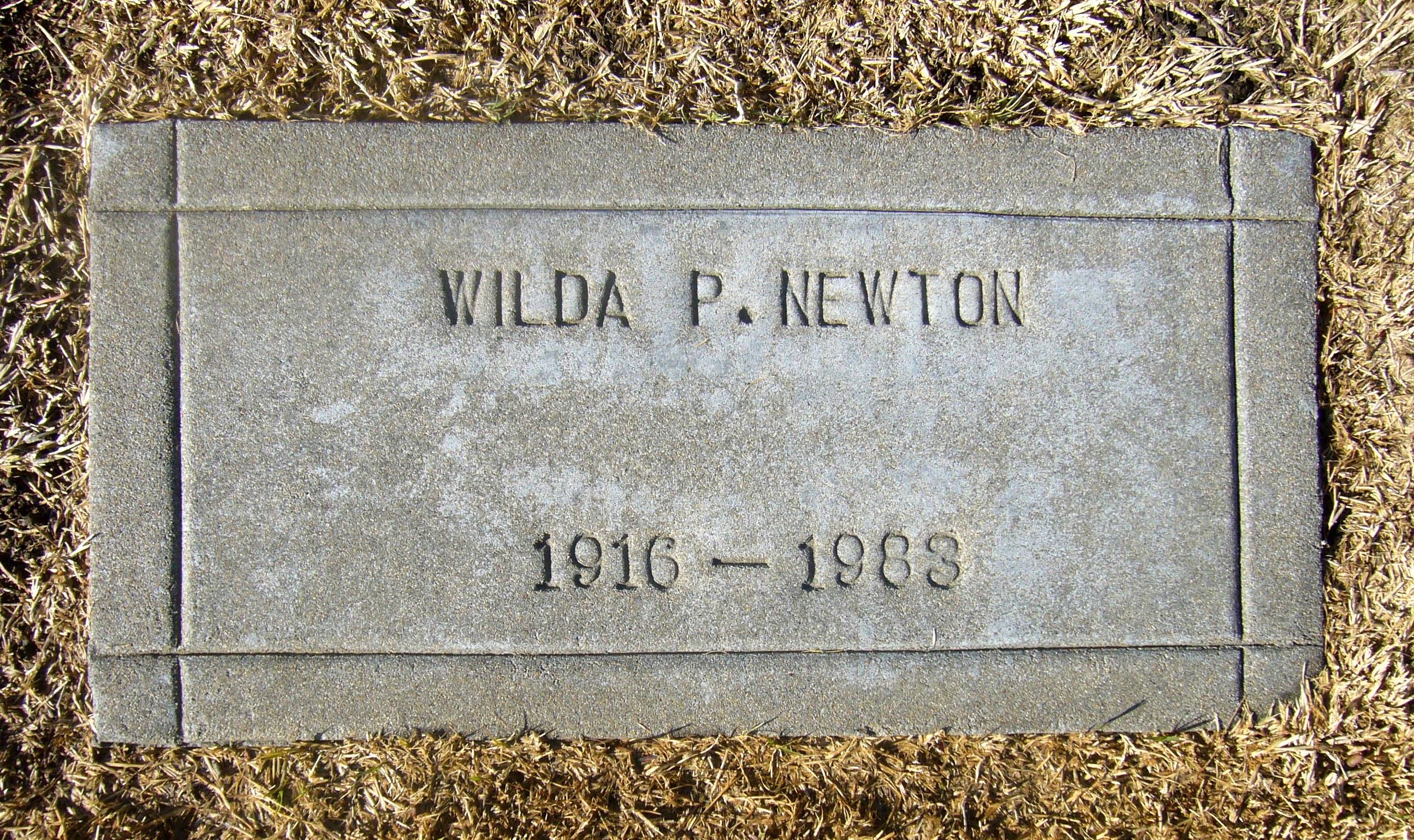 Mrs Wilda C. <i>Pool</i> Newton