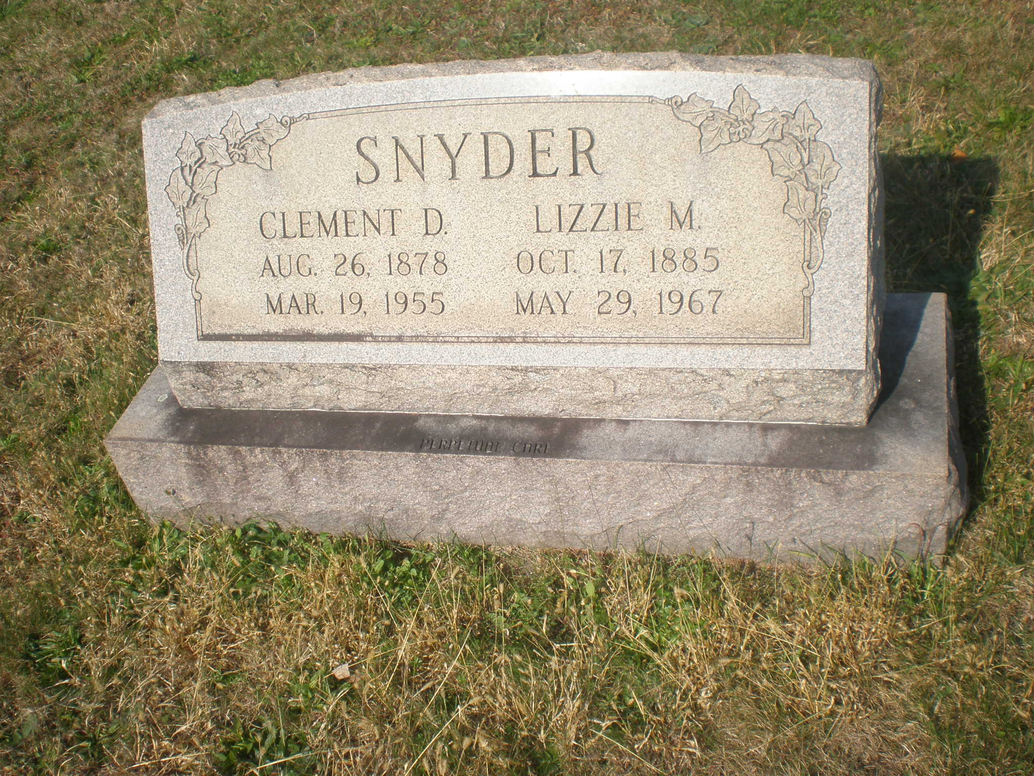 Clement Daniel Snyder
