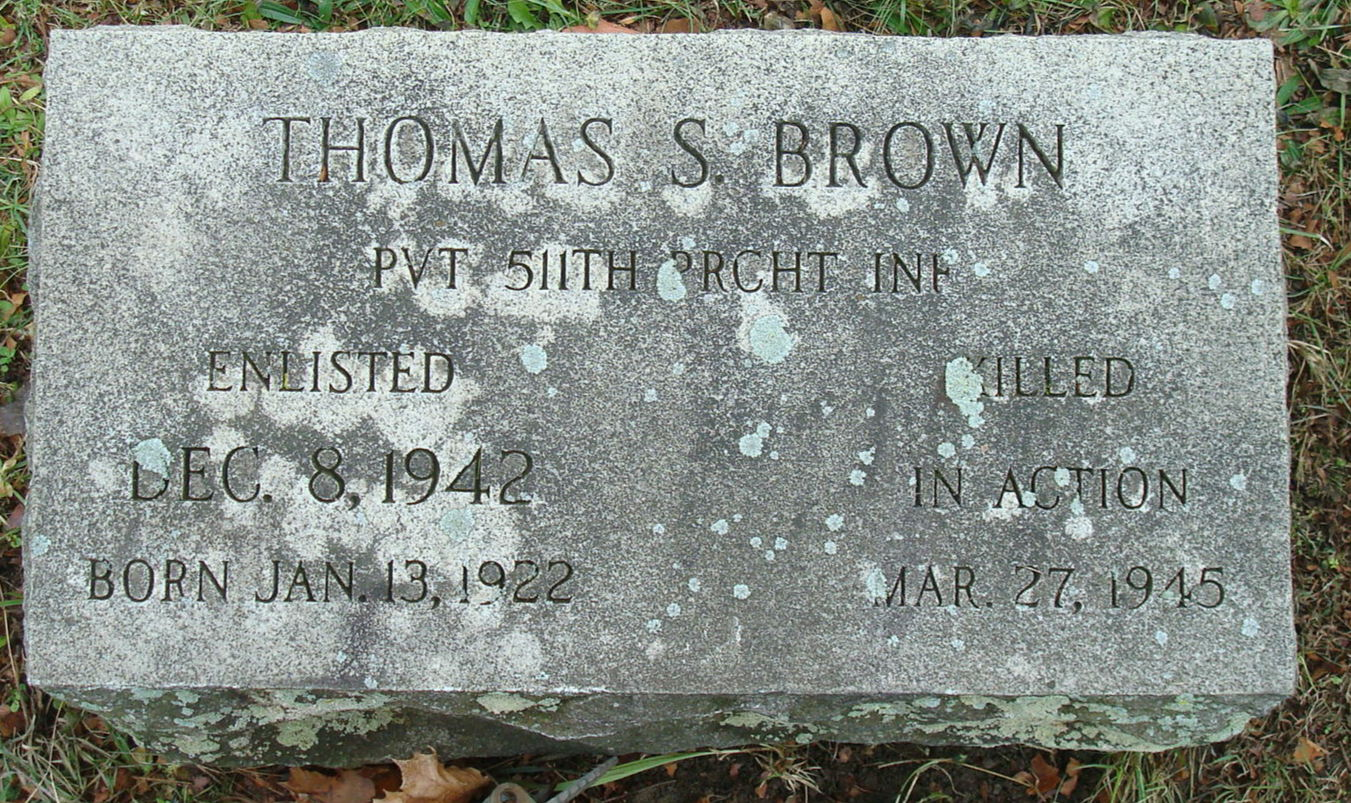 Thomas S Brown
