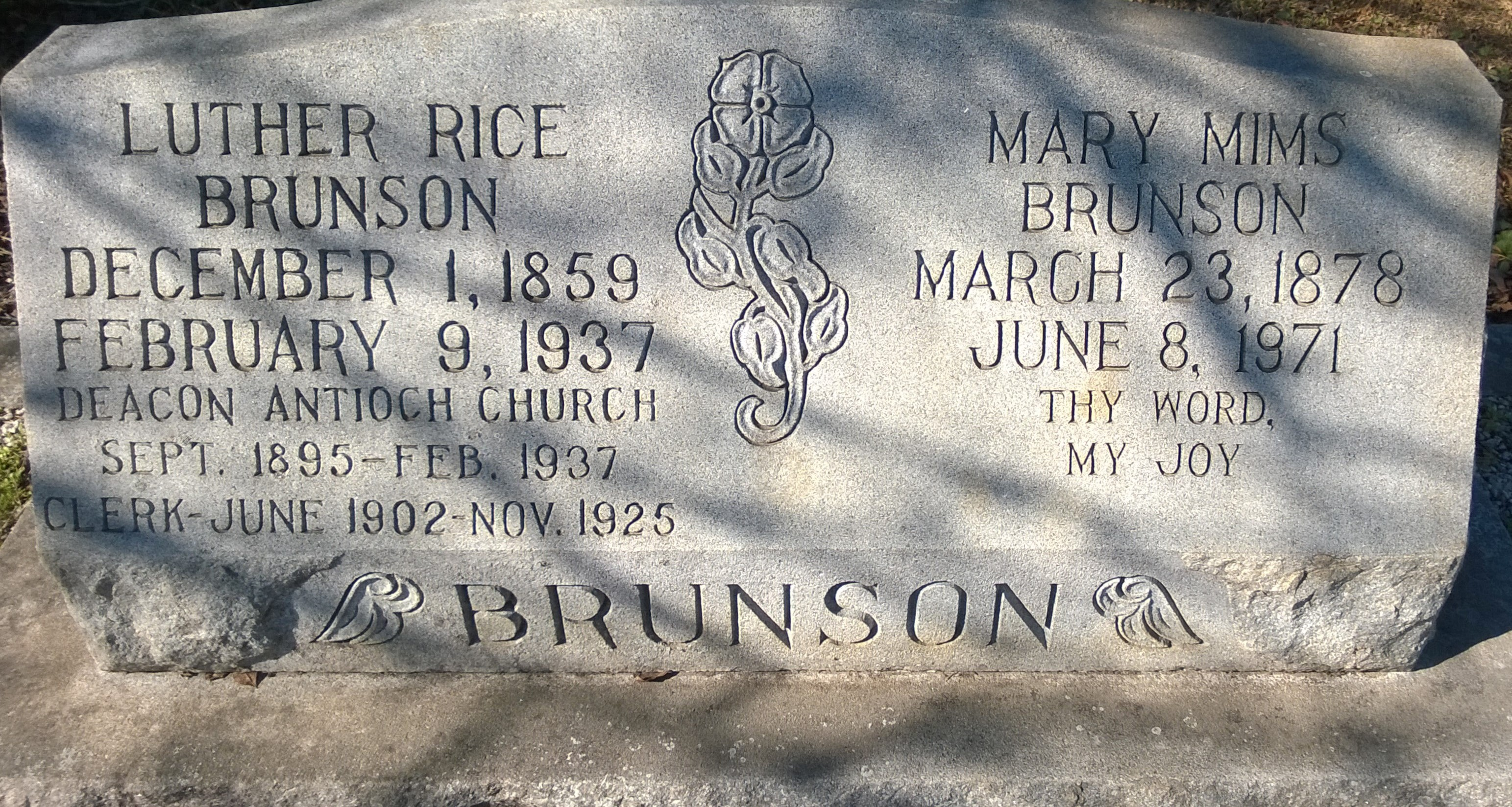 Luther Rice Brunson