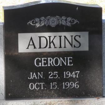 Gerone Adkins