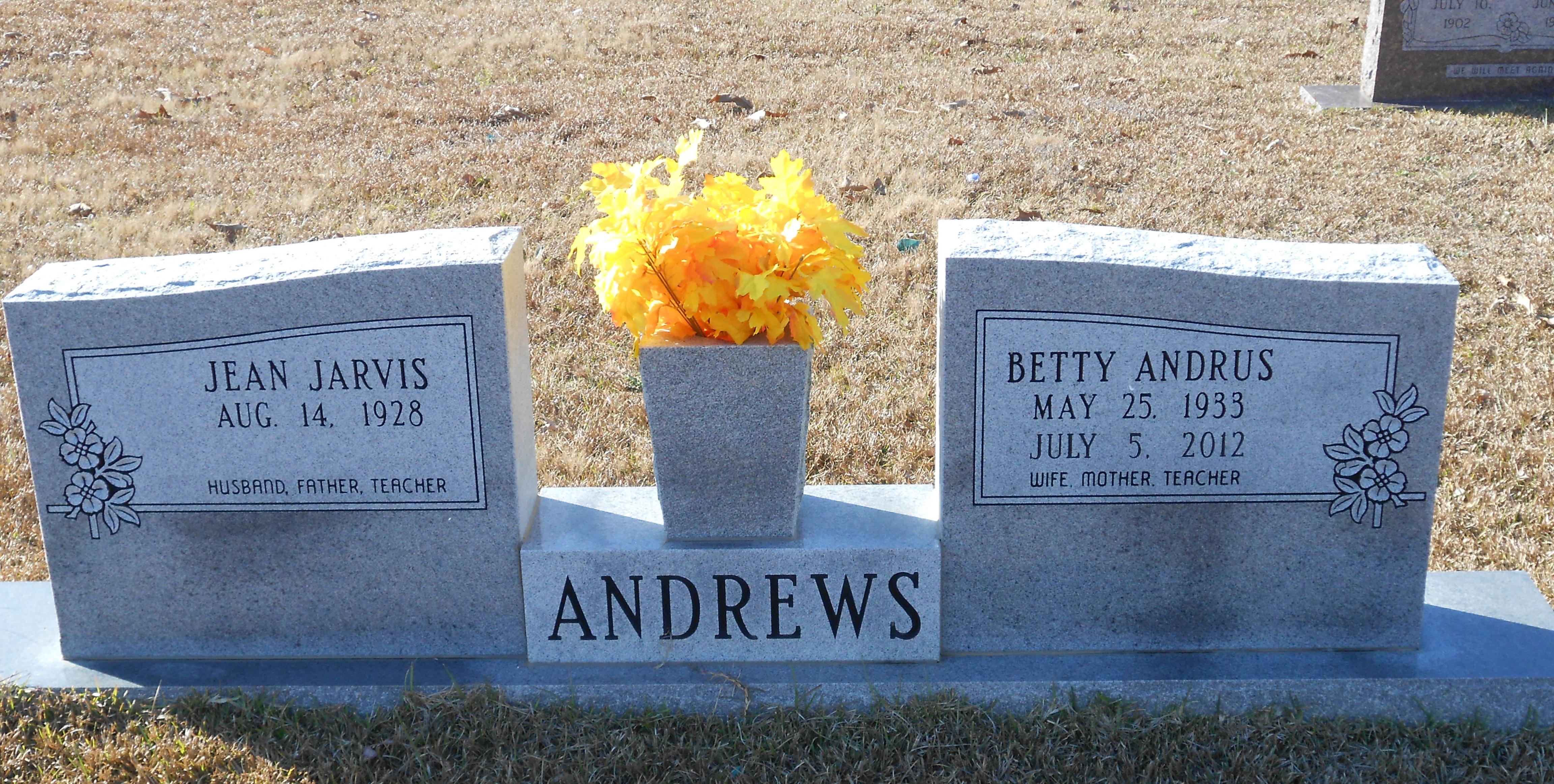 Betty Ruth <i>Andrus</i> Andrews