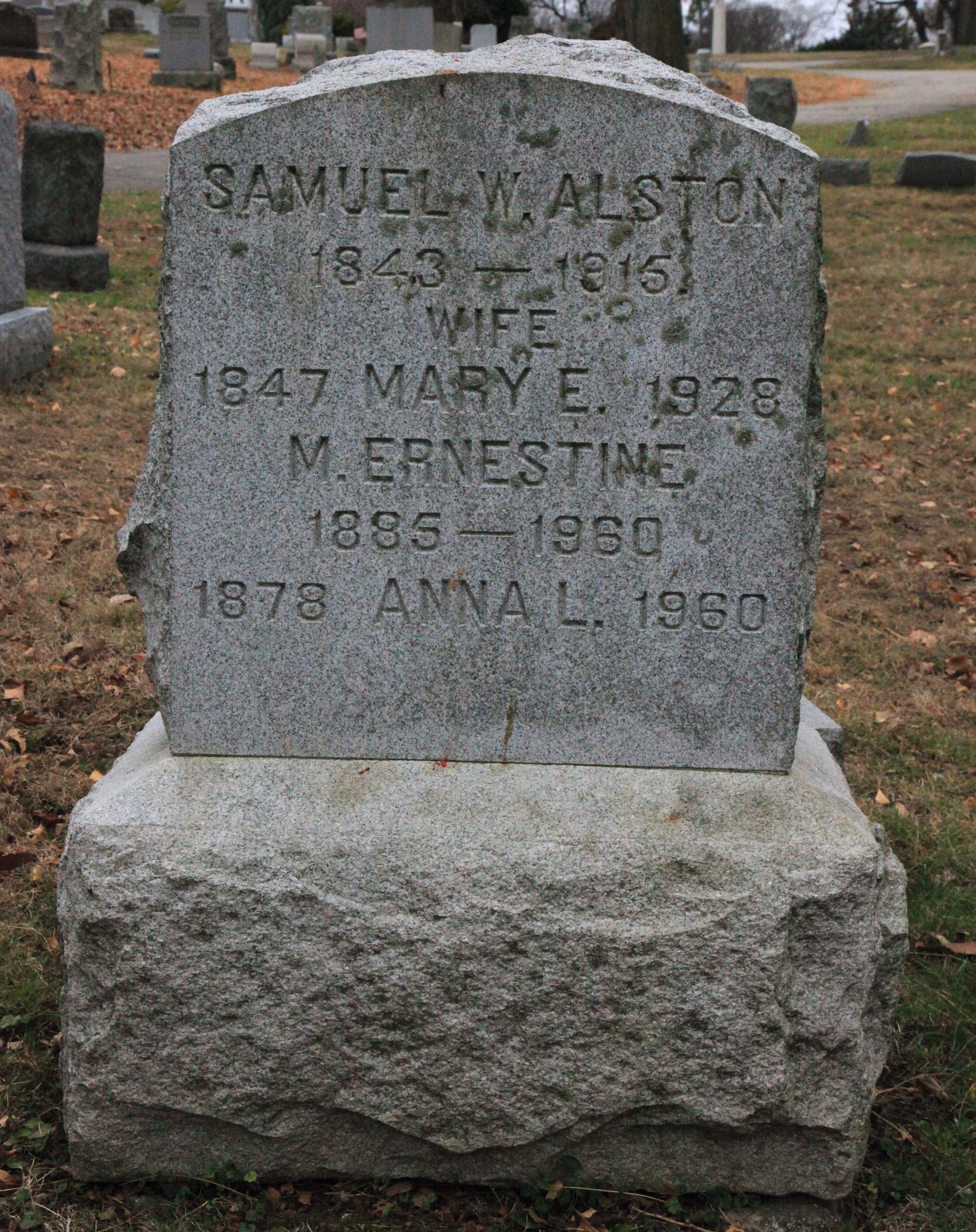 Pvt Samuel Warren Alston