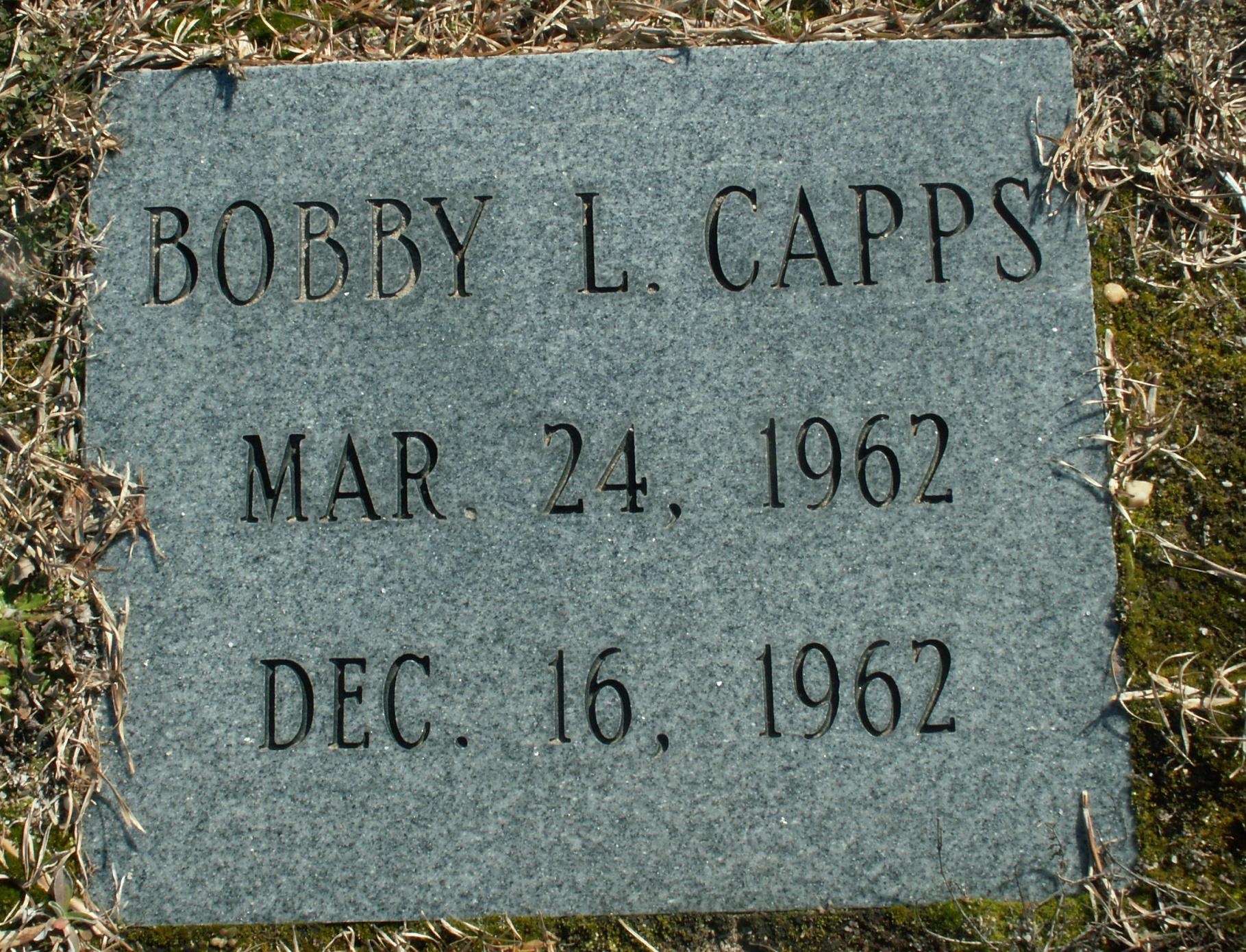 Bobby L Capps