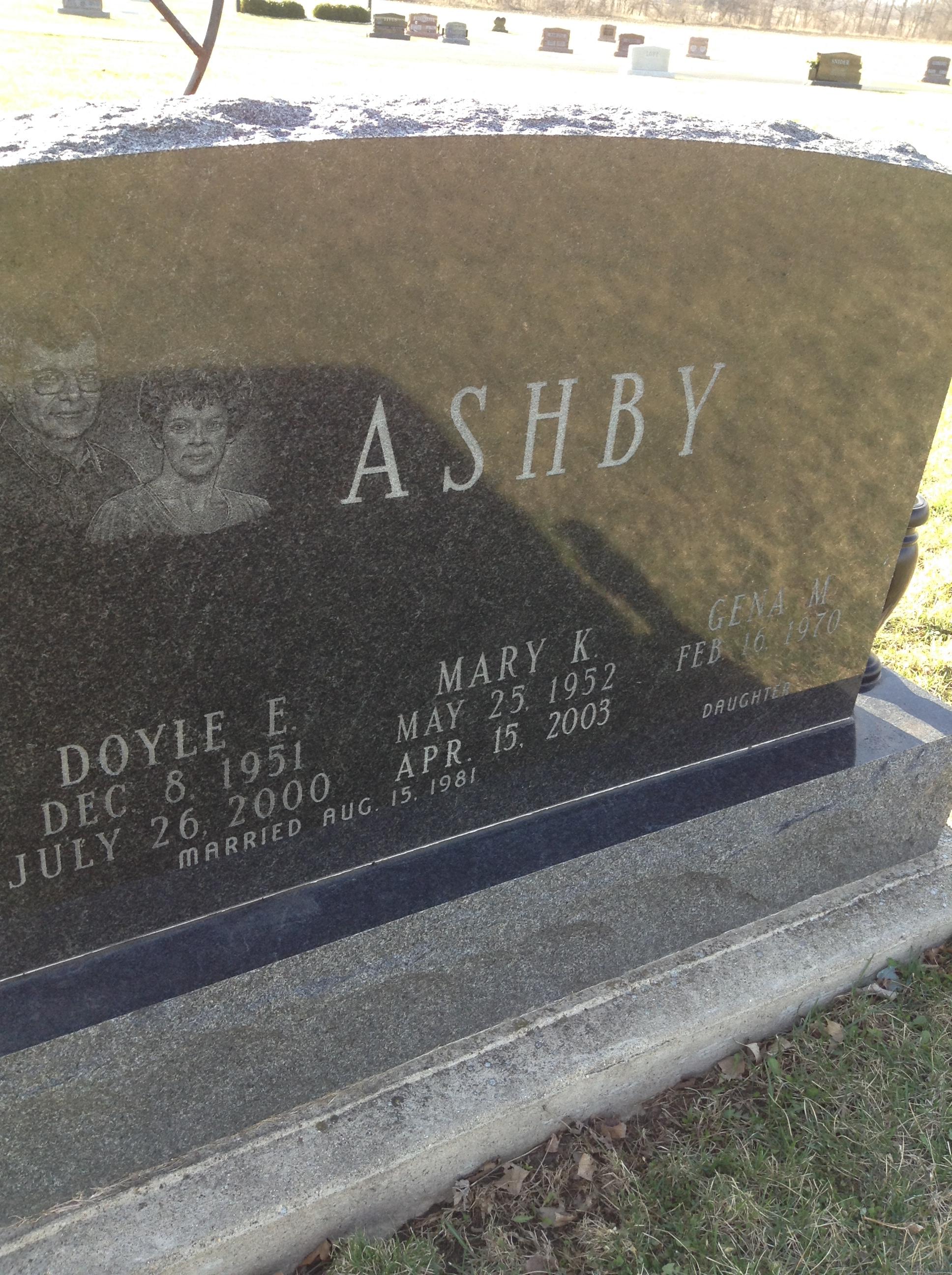 Mary Kate <i>Parker</i> Ashby