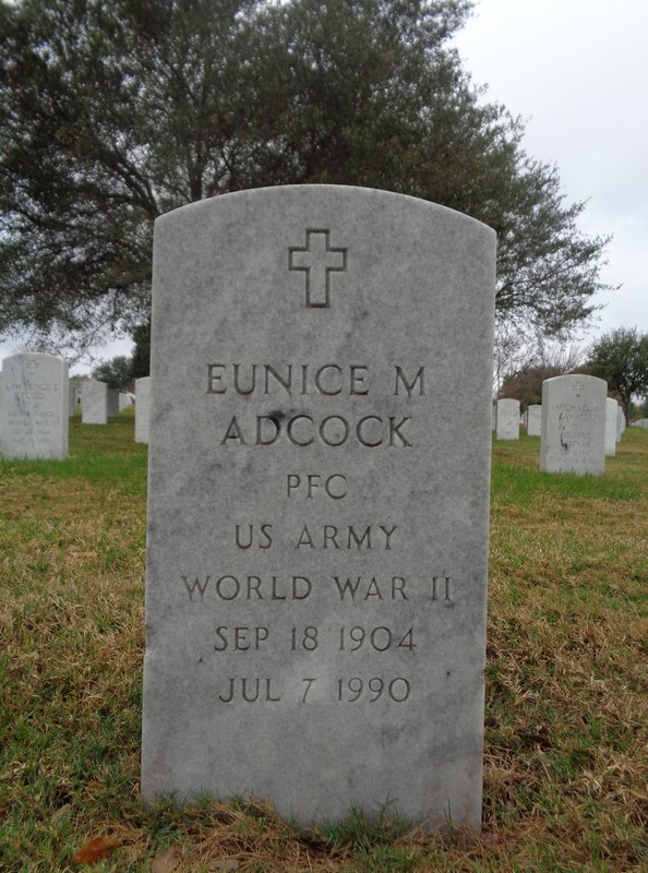 Eunice Maud <i>Hubbard</i> Adcock