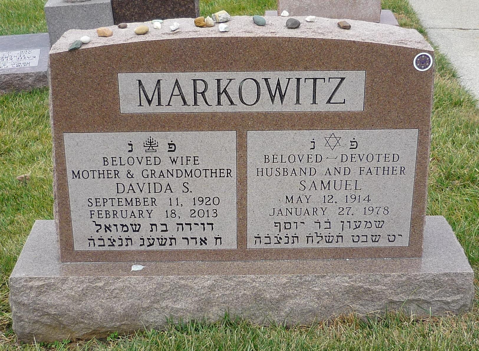 Davida <i>Shosid</i> Markowitz