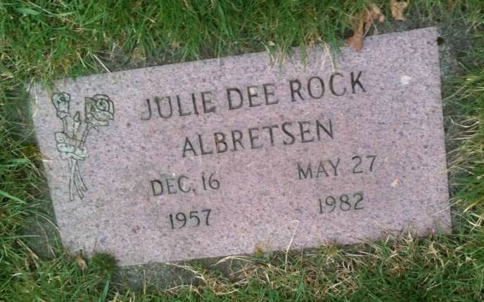 Julie Dee <i>Rock</i> Albretsen