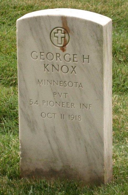 Pvt George Hiram Knox