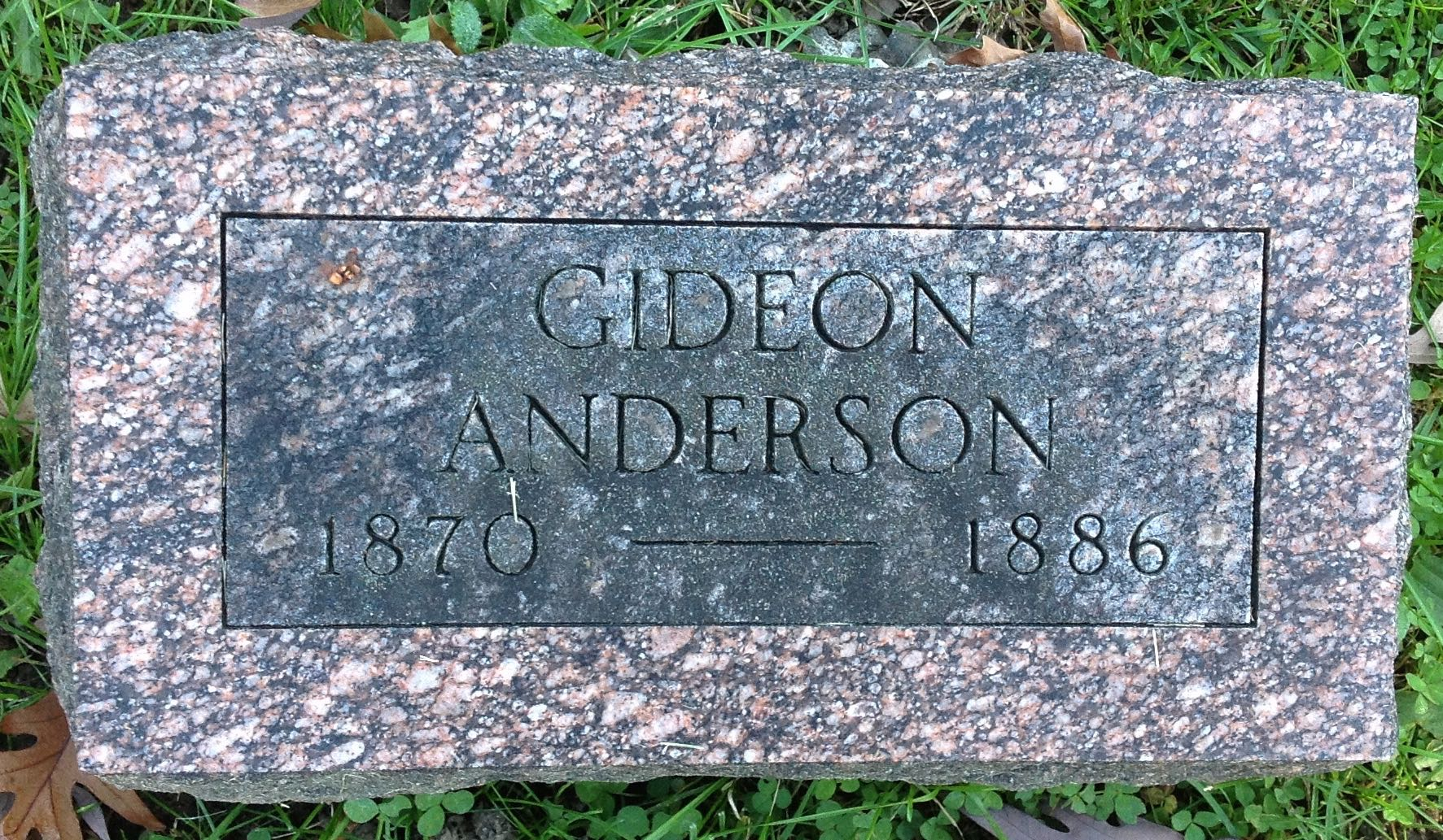 Gideon Anderson