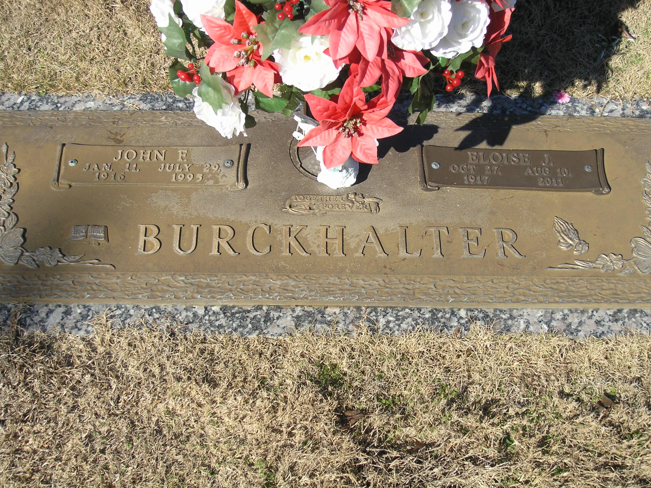 John Favor Burckhalter (1916-1995) - Find A Grave Memorial