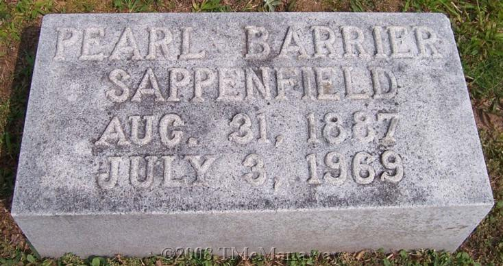 Pearl <i>Barrier</i> Sappenfield