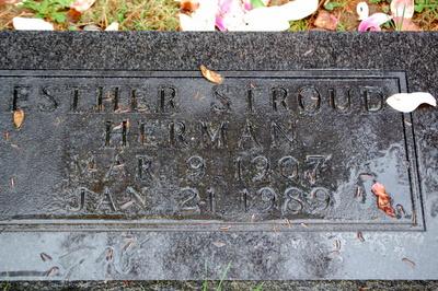 Esther <i>Stroud</i> Herman