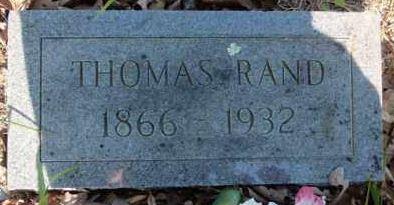 William Thomas Harrison Tom Rand
