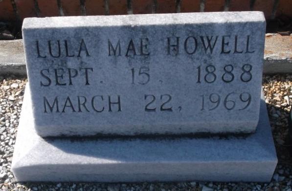 Lula Mae <i>Sanford</i> Howell