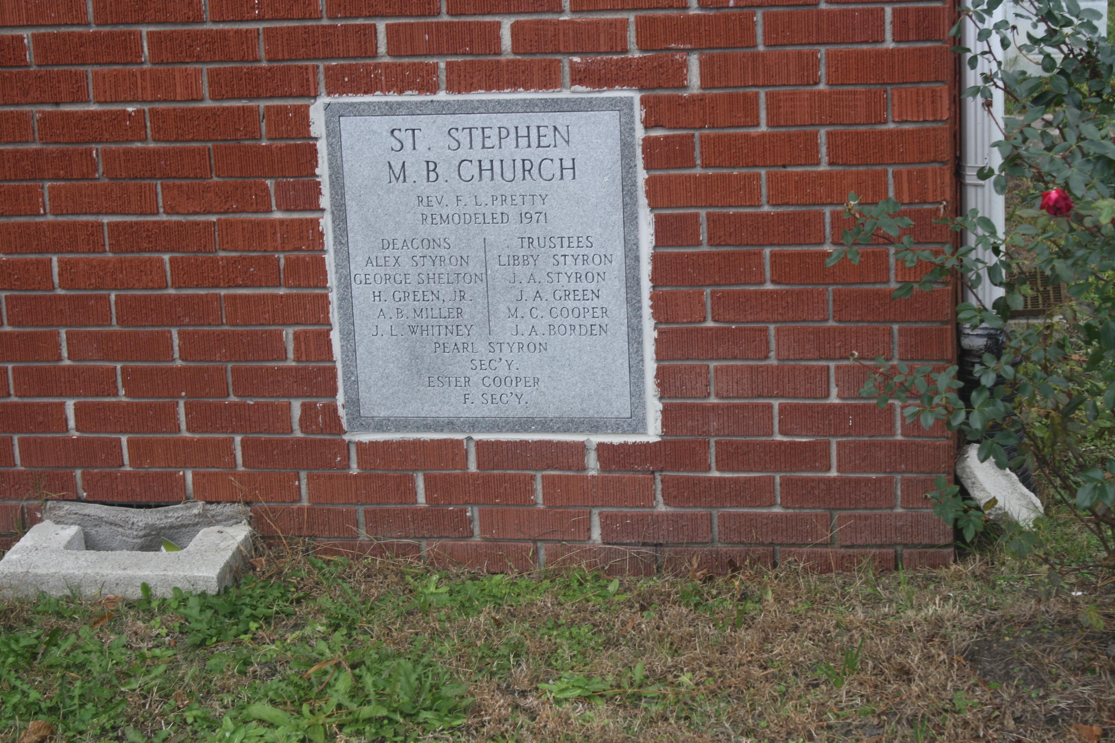 Saint Stephen Church Cemetery