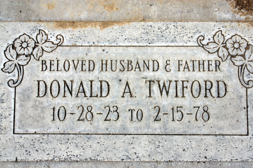 Donald A Twiford