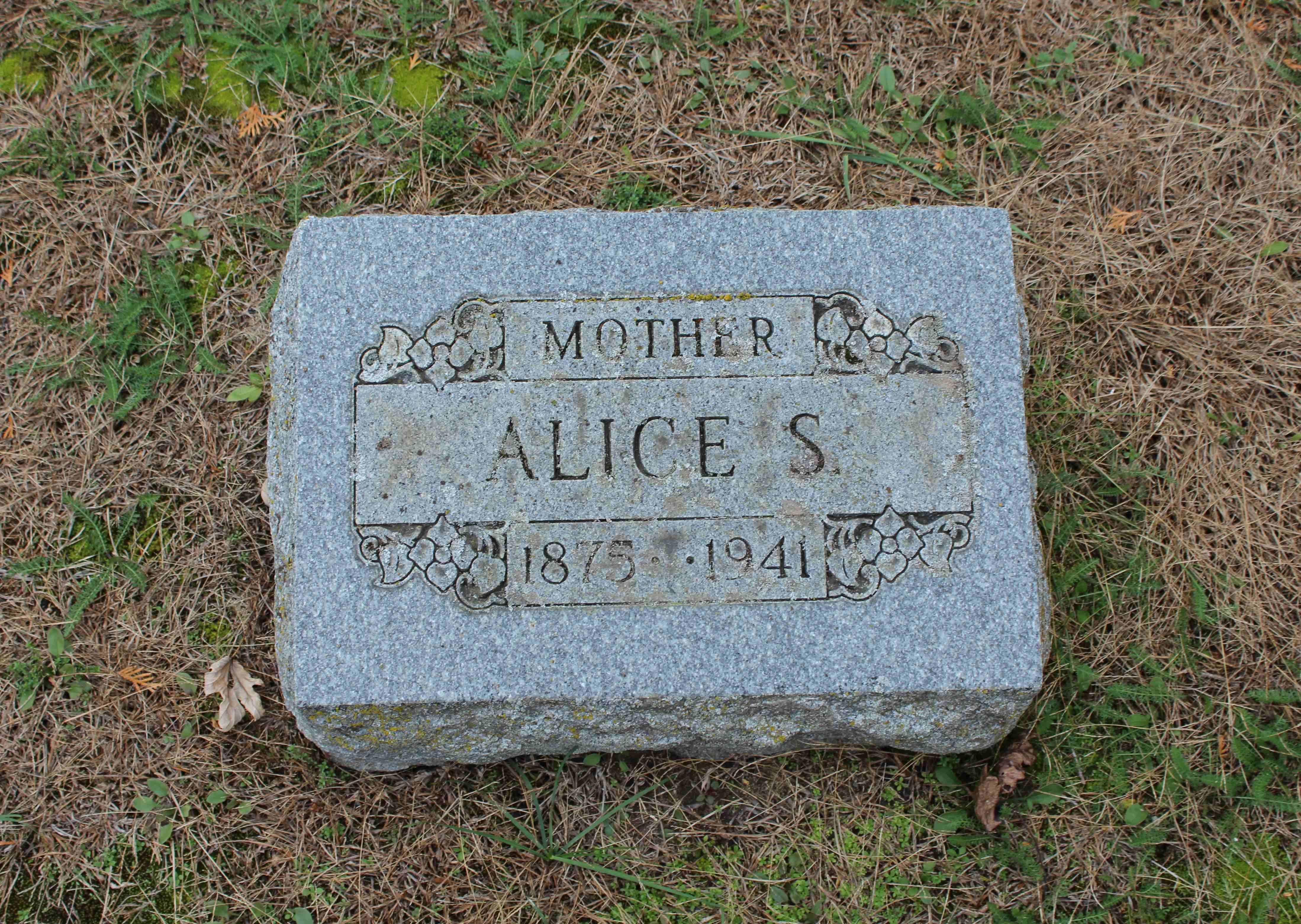 Alice S <i>Patten</i> Michaels