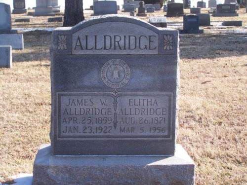 Elitha Jane <i>Nunn</i> Alldridge