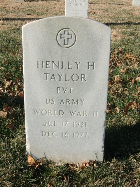 Henley H Taylor