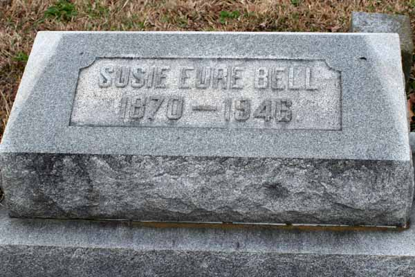 Susie <i>Eure</i> Bell
