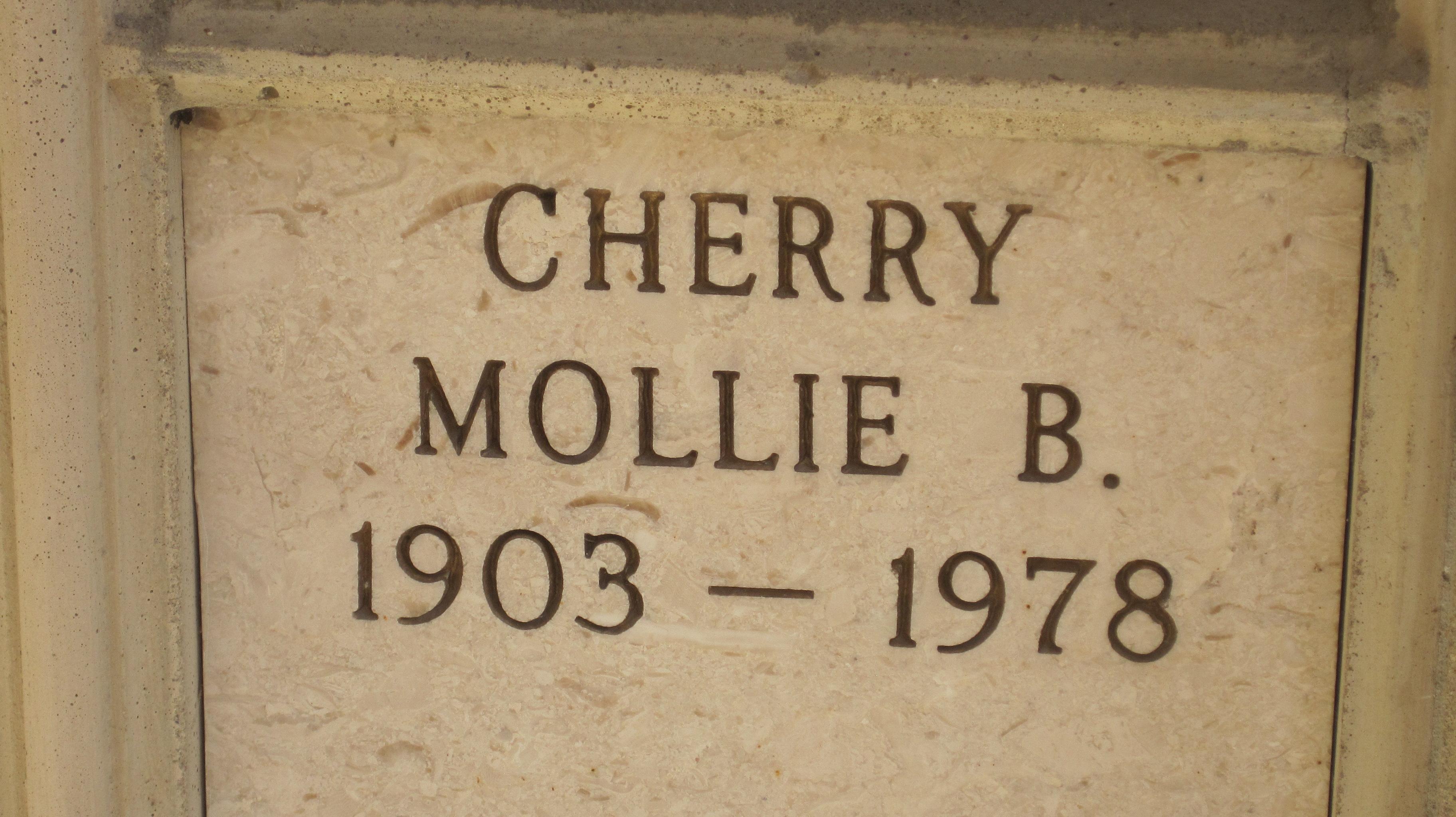 Mollie <i>Balmer</i> Cherry