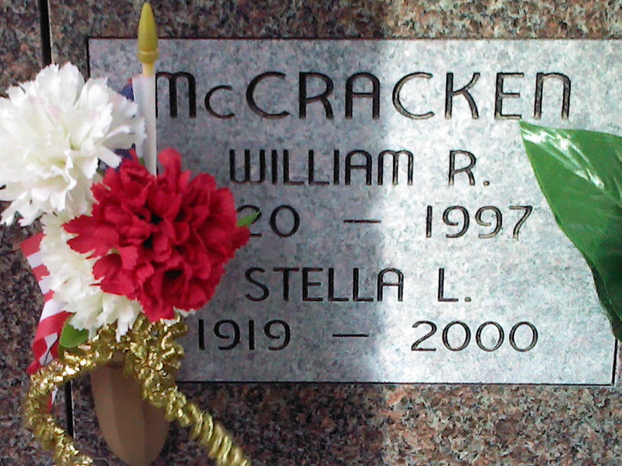 William R McCracken