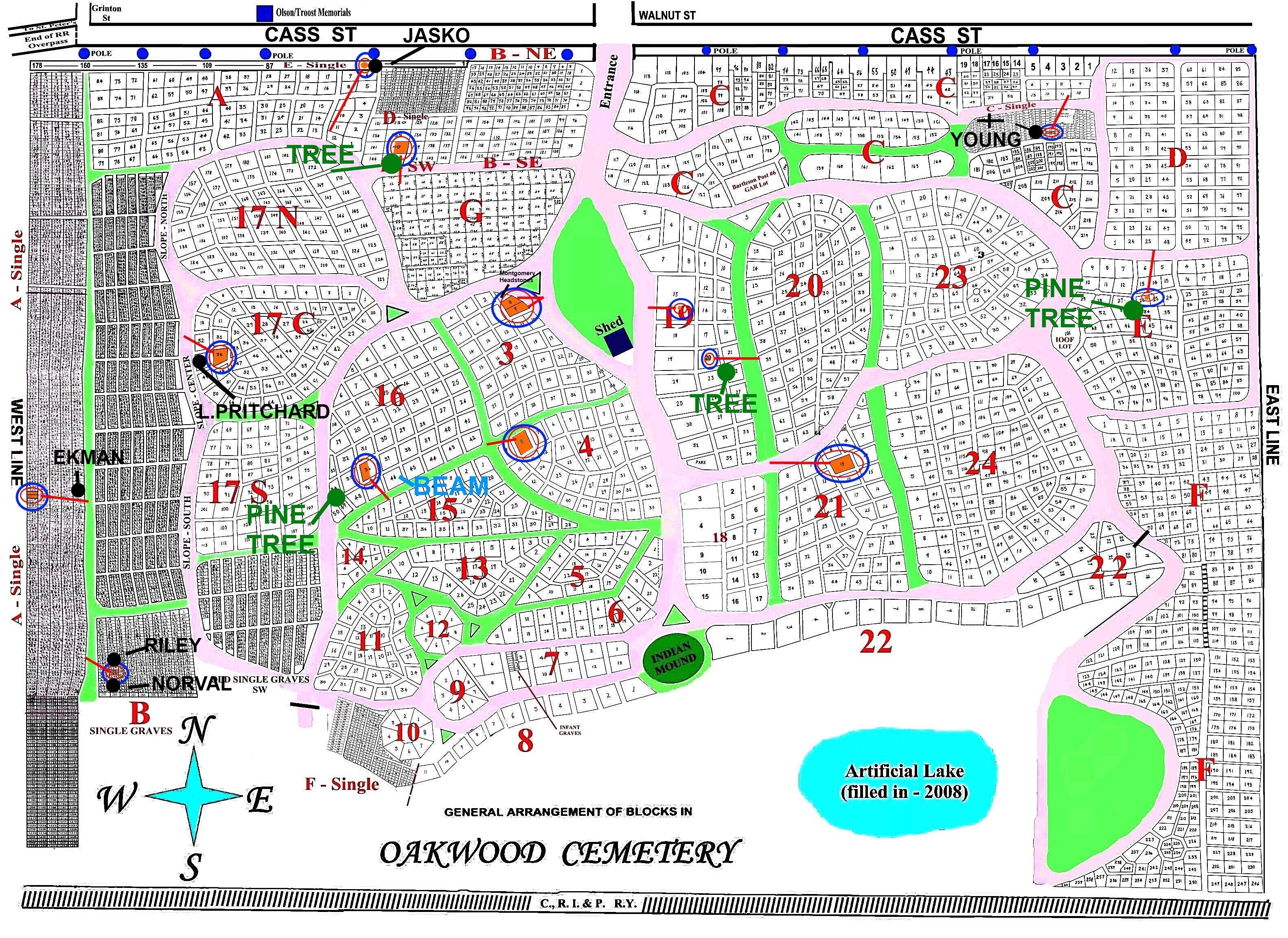 Joliet Il Zip Code Map.Oakwood Cemetery In Joliet Illinois Find A Grave Cemetery