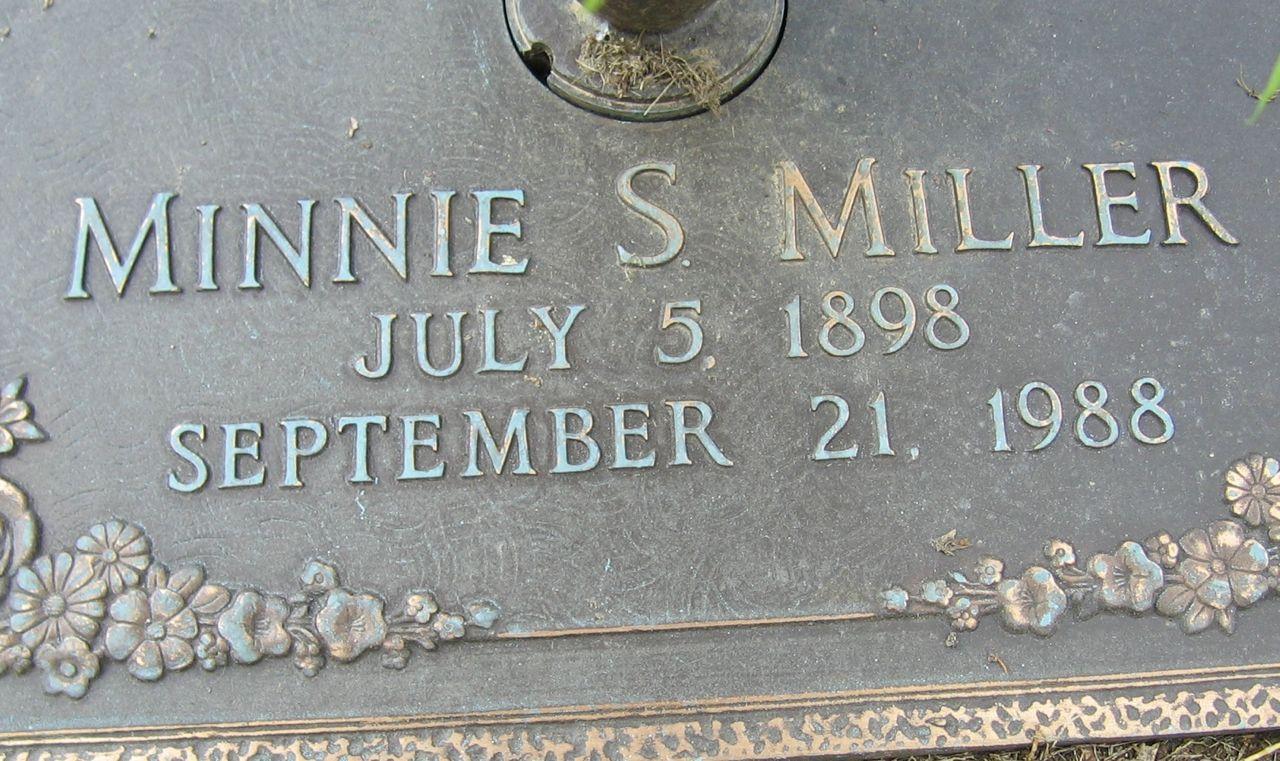 Minnie <i>Sexton</i> Miller