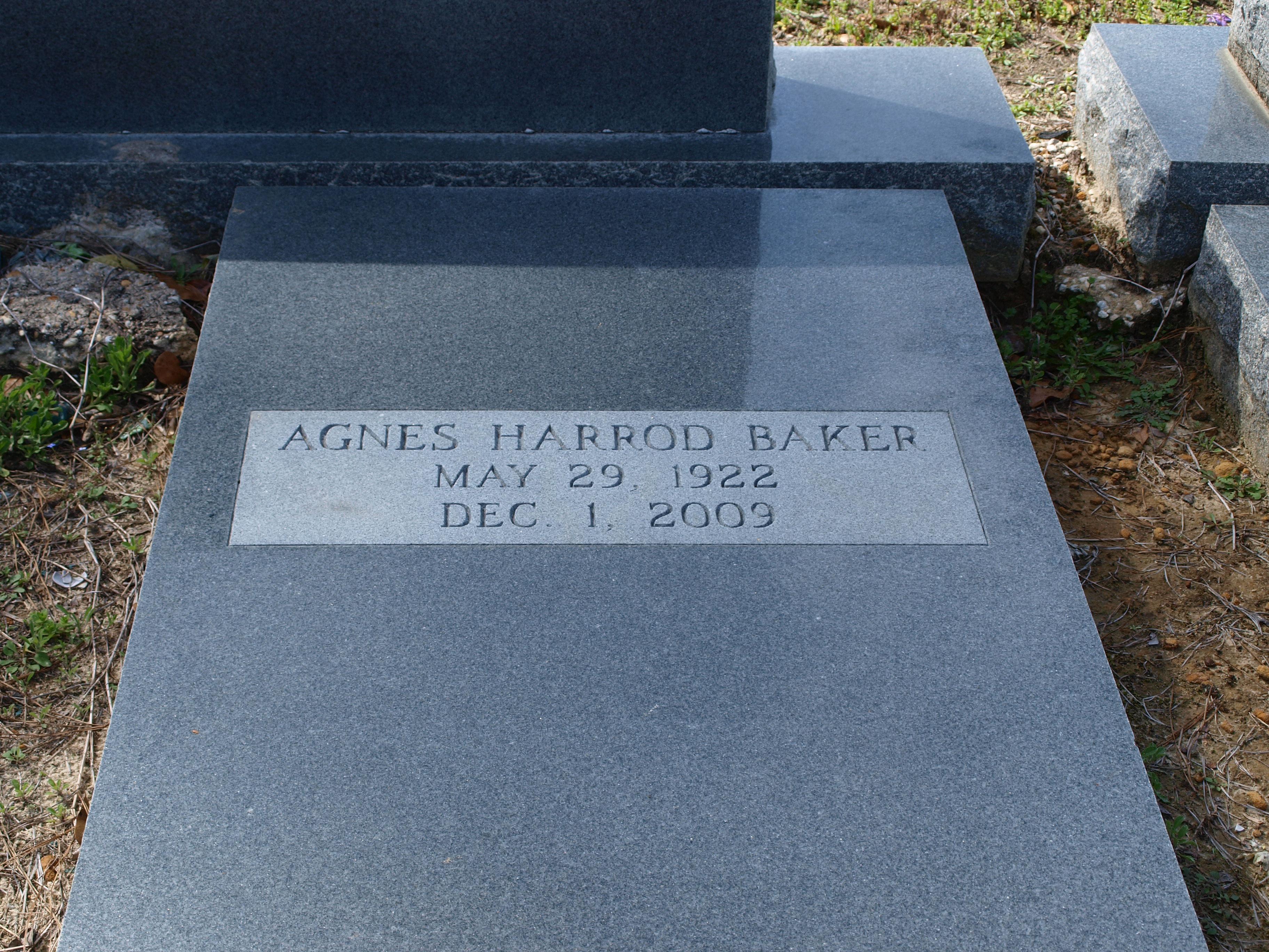 Agnes <i>Blount</i> Baker