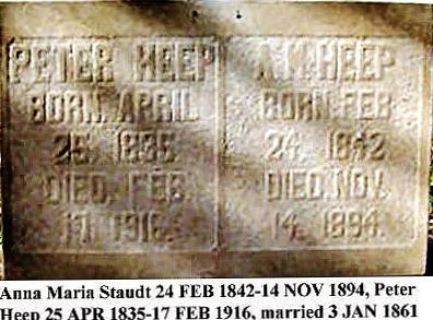 Anna Marie <i>Staudt</i> Heep