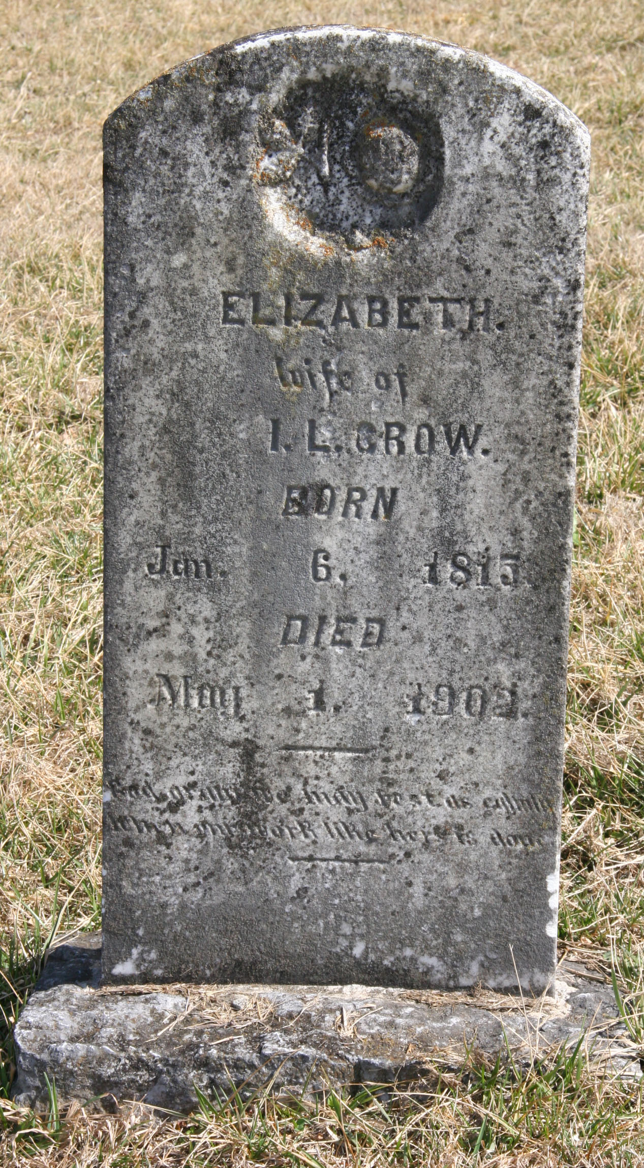 Elizabeth <i>Hart</i> Crow